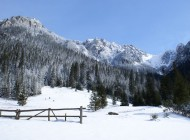 Blick auf polnische Tatra