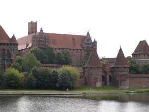 Schloss in Marienburg